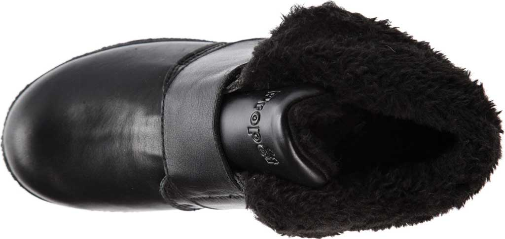 Women's Propet Harlow Fur Lined Bootie, Black Leather, large, image 4
