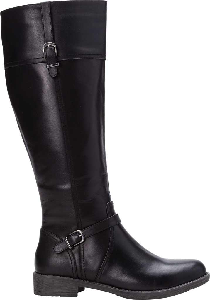 Women's Propet Tasha Knee High Boot, Black Full Grain Leather, large, image 2