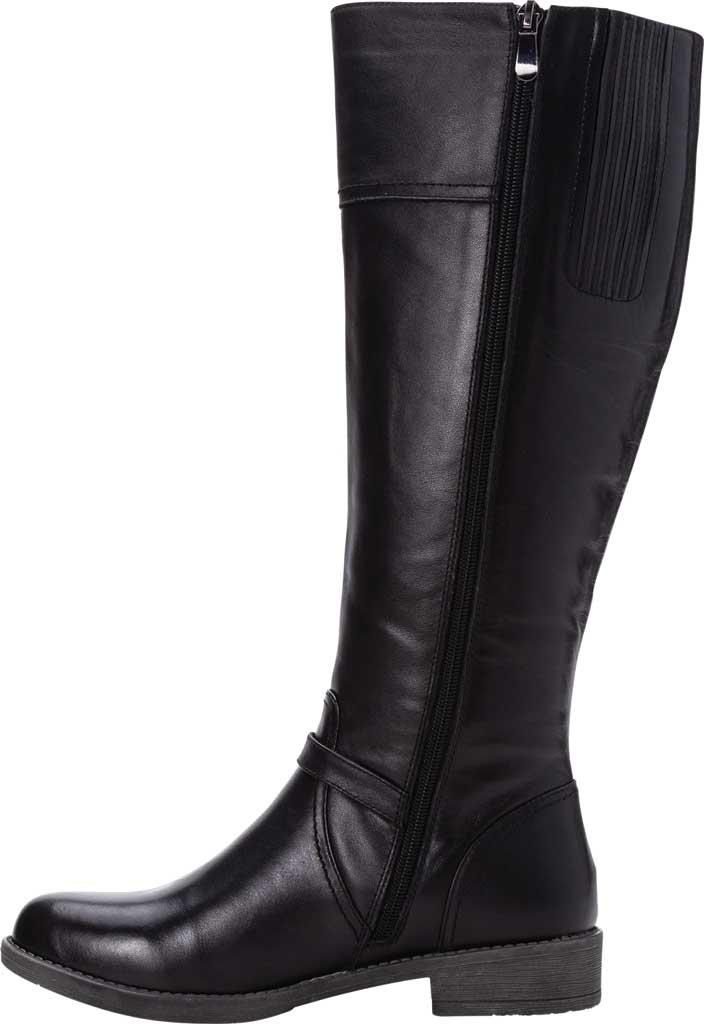 Women's Propet Tasha Knee High Boot, Black Full Grain Leather, large, image 3