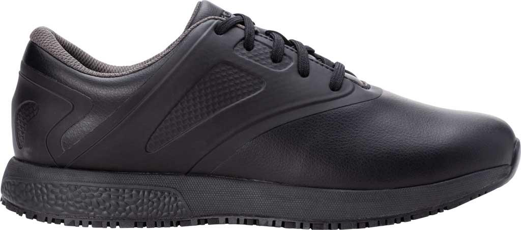 Men's Propet Slater Sneaker, Black Polyurethane, large, image 2
