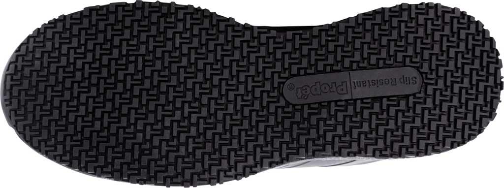 Men's Propet Slater Sneaker, Black Polyurethane, large, image 5