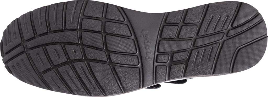 Men's Propet Garrett Strap Orthopedic Shoe, Black Full Grain Leather, large, image 5