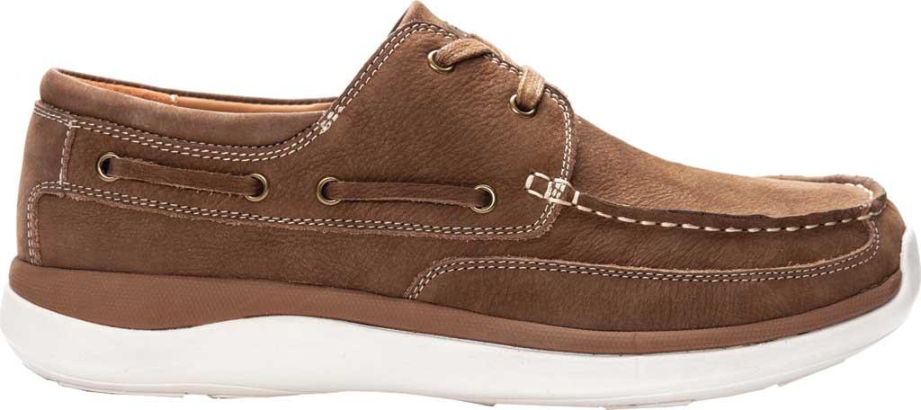 Men's Propet Pomeroy Boat Shoe, Timber Nubuck, large, image 2