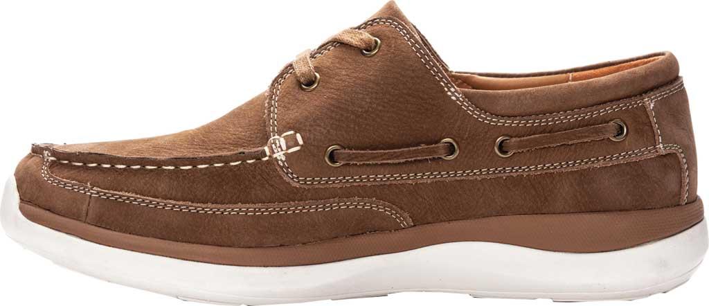 Men's Propet Pomeroy Boat Shoe, Timber Nubuck, large, image 3