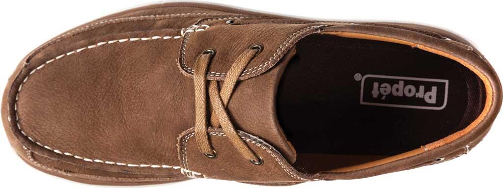 Men's Propet Pomeroy Boat Shoe, Timber Nubuck, large, image 4