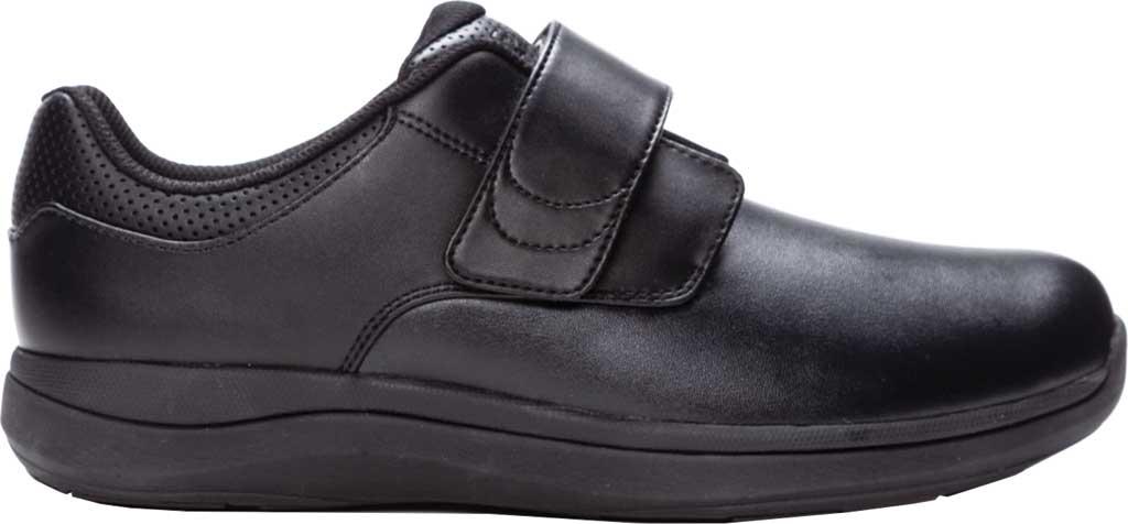 Men's Propet Pierson Strap Orthopedic Shoe, Black Leatherette, large, image 2
