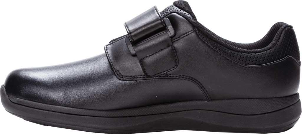Men's Propet Pierson Strap Orthopedic Shoe, Black Leatherette, large, image 3