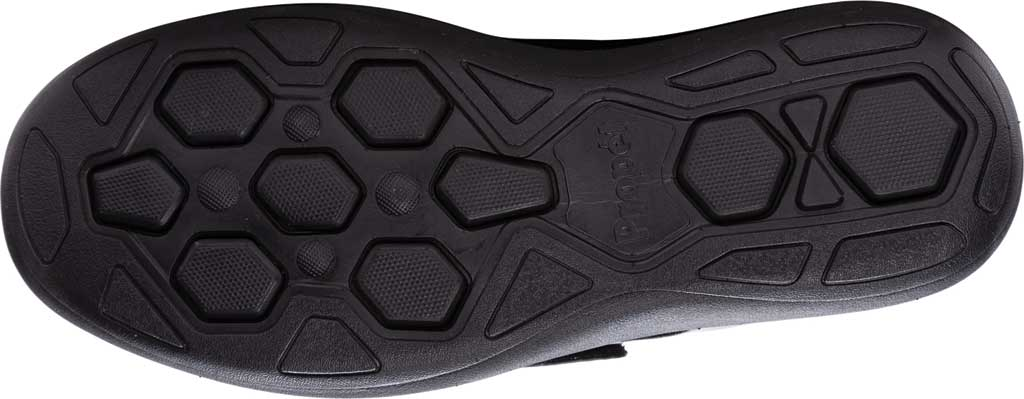 Men's Propet Pierson Strap Orthopedic Shoe, Black Leatherette, large, image 5