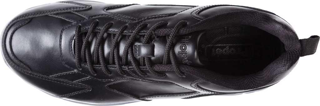 Men's Propet Ultra Sneaker, Black Leather, large, image 4