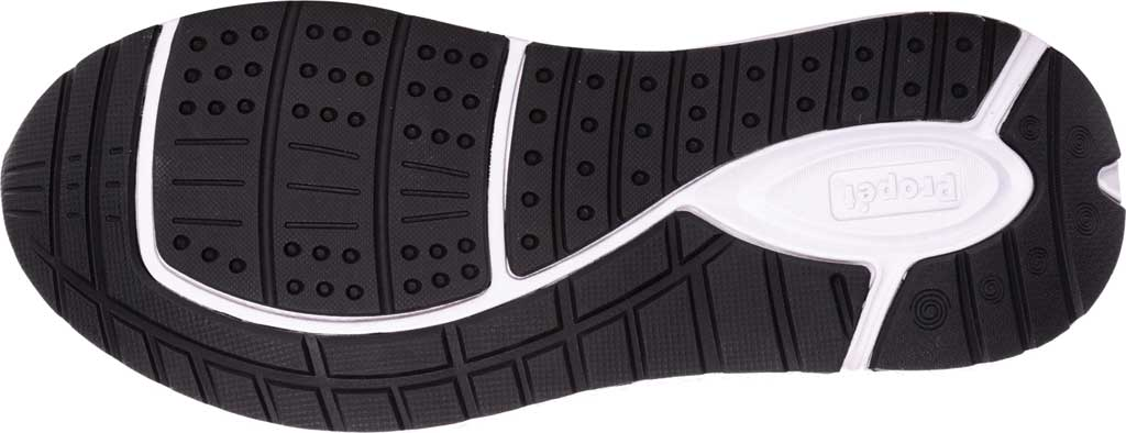 Men's Propet Ultra Sneaker, Black Leather, large, image 5