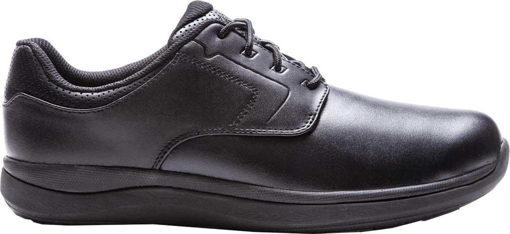 Men's Propet Pierson Oxford, Black Leatherette, large, image 2