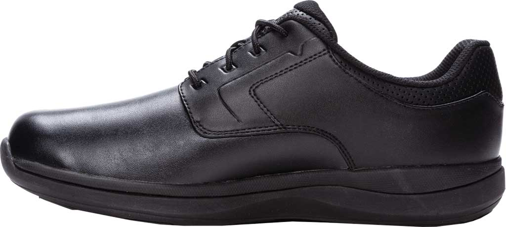 Men's Propet Pierson Oxford, Black Leatherette, large, image 3