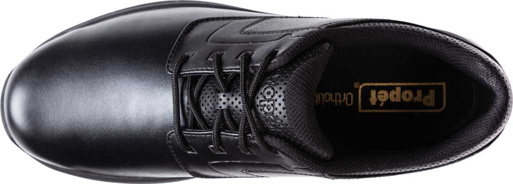 Men's Propet Pierson Oxford, Black Leatherette, large, image 4