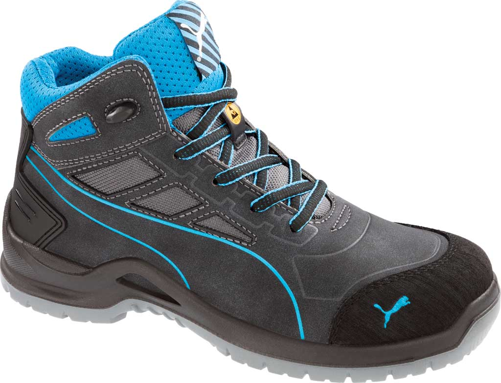 Women's PUMA Safety Shoes Beryll Steel Toe Boot SD, Gray, large, image 1