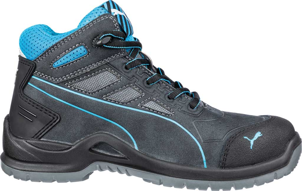Women's PUMA Safety Shoes Beryll Steel Toe Boot SD, Gray, large, image 2