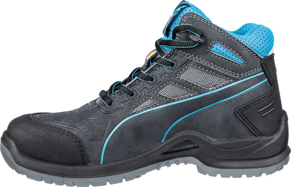 Women's PUMA Safety Shoes Beryll Steel Toe Boot SD, Gray, large, image 3