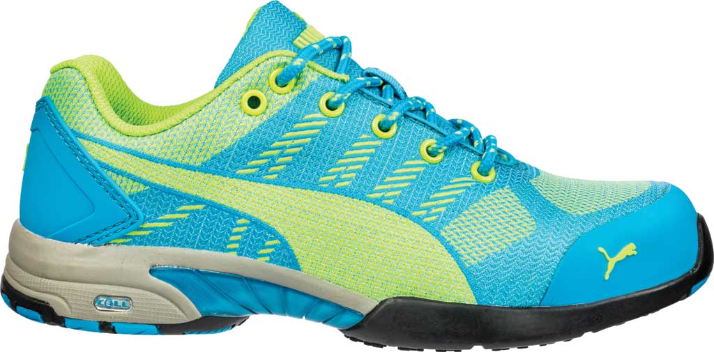 Women's PUMA Safety Shoes Celerity Knit Steel Toe Shoe SD, Blue, large, image 2