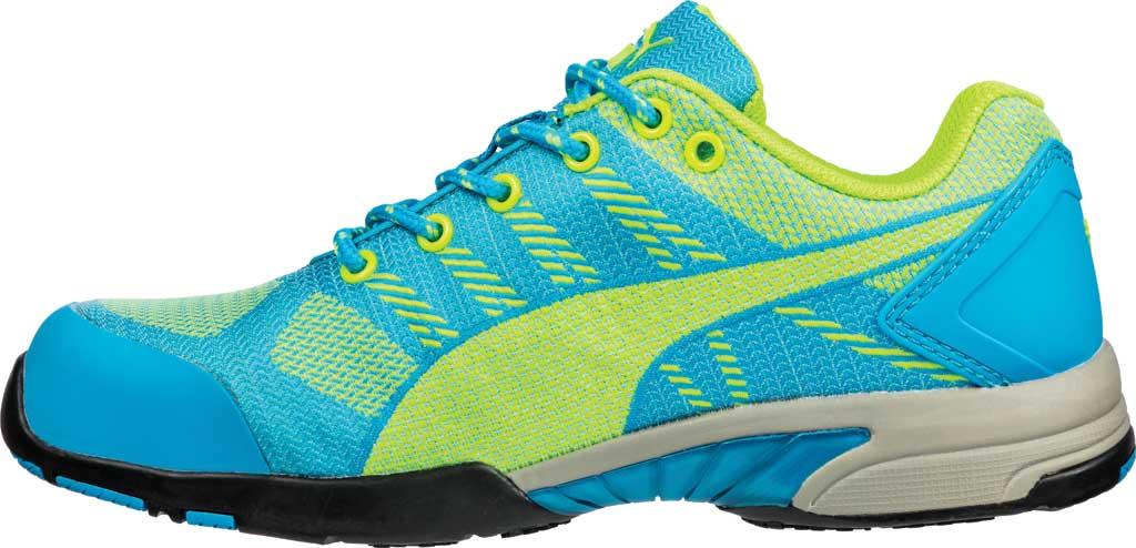 Women's PUMA Safety Shoes Celerity Knit Steel Toe Shoe SD, Blue, large, image 3