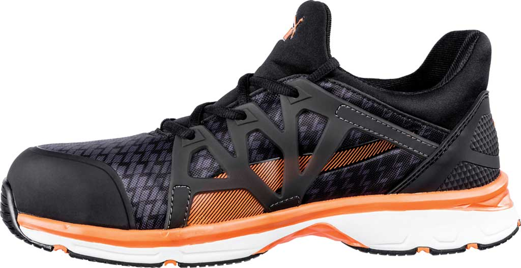 Men's PUMA Safety Shoes Rush 2.0 Mid SD Work Shoe, Black, large, image 2