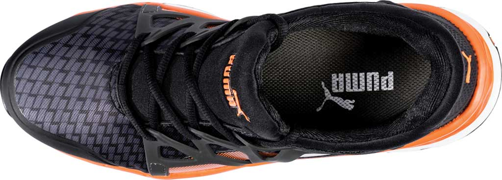 Men's PUMA Safety Shoes Rush 2.0 Mid SD Work Shoe, Black, large, image 4
