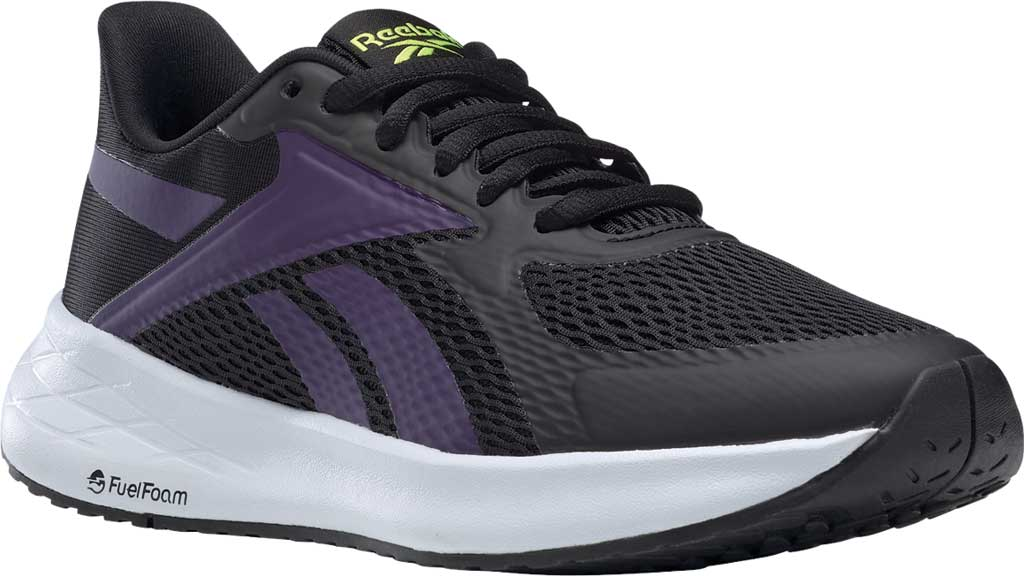 Women's Reebok Energen Run Running Sneaker, Core Black/Dark Orchid/Ftwr White, large, image 1