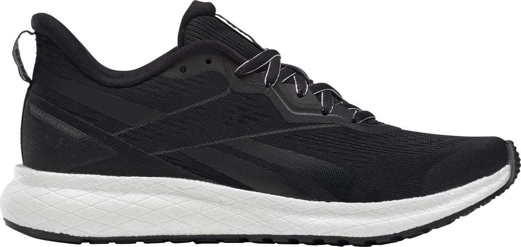 Women's Reebok Forever Floatride Energy 2 Running Sneaker, Black/Black/White, large, image 2