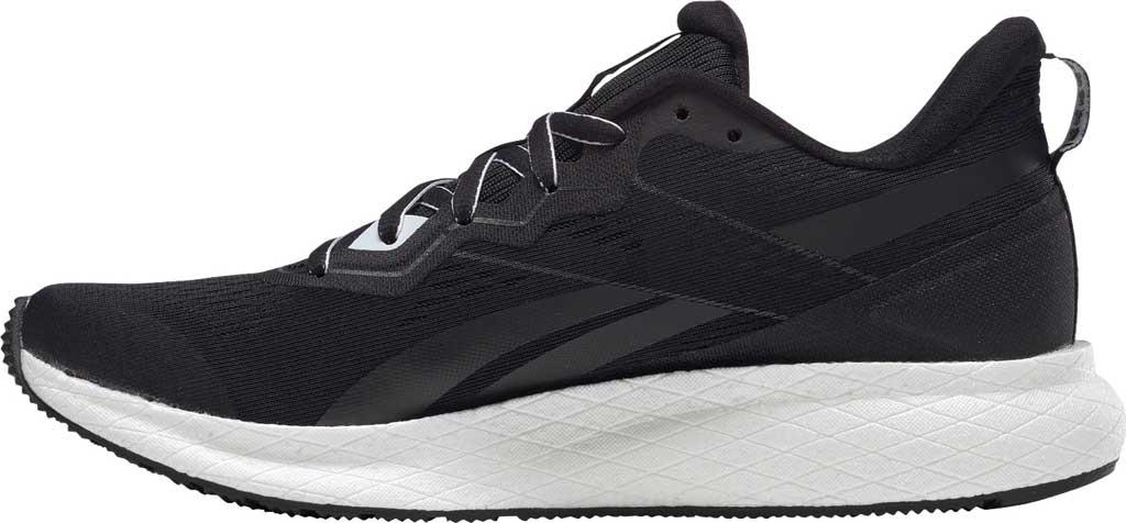 Women's Reebok Forever Floatride Energy 2 Running Sneaker, Black/Black/White, large, image 3