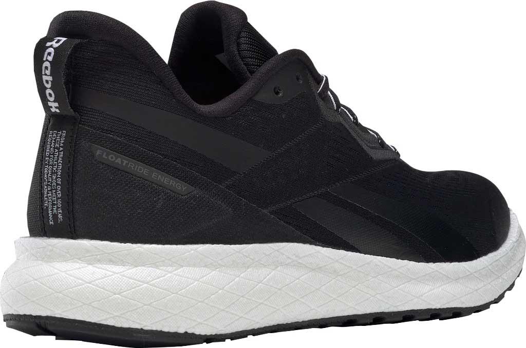 Women's Reebok Forever Floatride Energy 2 Running Sneaker, Black/Black/White, large, image 4