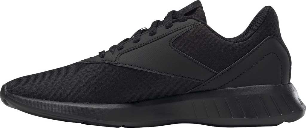 Women's Reebok Lite 2.0 Running Sneaker, Black/Black/True Grey, large, image 3