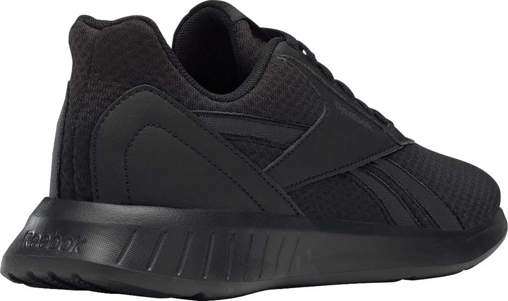 Women's Reebok Lite 2.0 Running Sneaker, Black/Black/True Grey, large, image 4