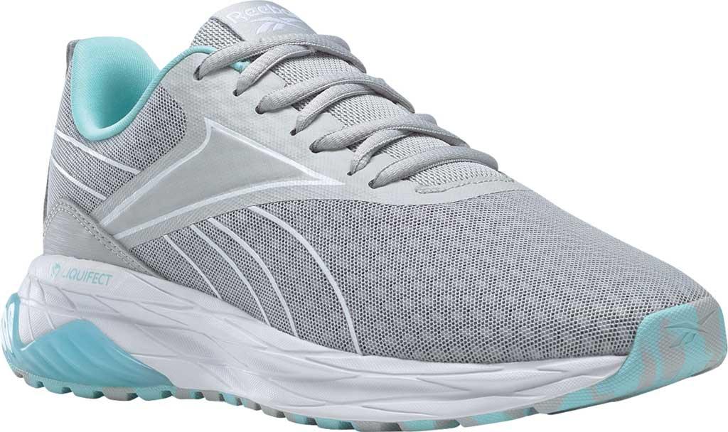 Women's Reebok Liquifect 180 2.0 Running Sneaker, Pure Grey 2/Digital Glow/True Grey 7, large, image 1