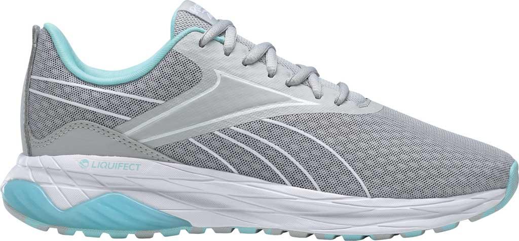 Women's Reebok Liquifect 180 2.0 Running Sneaker, Pure Grey 2/Digital Glow/True Grey 7, large, image 2