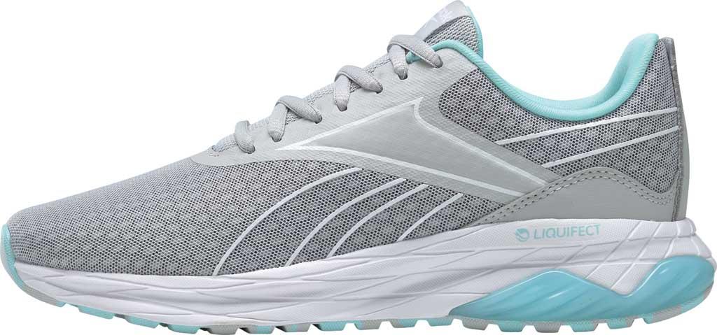 Women's Reebok Liquifect 180 2.0 Running Sneaker, Pure Grey 2/Digital Glow/True Grey 7, large, image 3