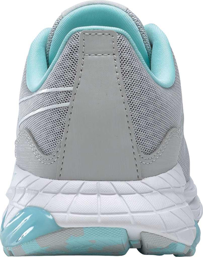 Women's Reebok Liquifect 180 2.0 Running Sneaker, Pure Grey 2/Digital Glow/True Grey 7, large, image 4