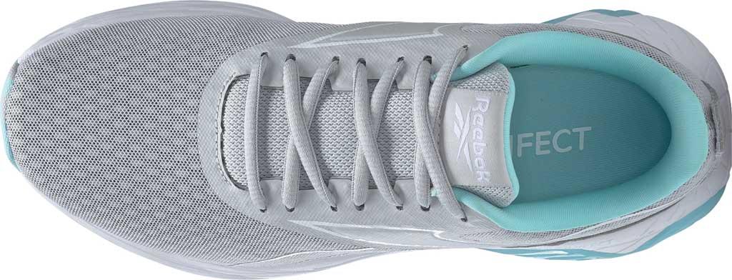 Women's Reebok Liquifect 180 2.0 Running Sneaker, Pure Grey 2/Digital Glow/True Grey 7, large, image 5