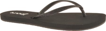 Women's Reef Stargazer, Black/Black, large, image 1