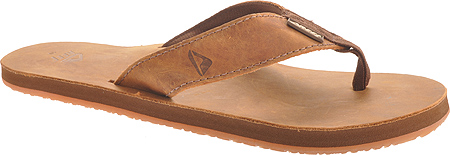 Men's Reef Leather Smoothy, Bronze Brown, large, image 1