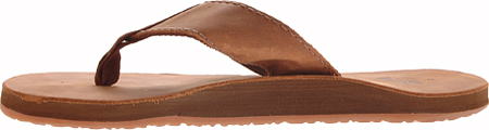 Men's Reef Leather Smoothy, Bronze Brown, large, image 3