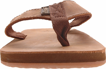 Men's Reef Leather Smoothy, Bronze Brown, large, image 4