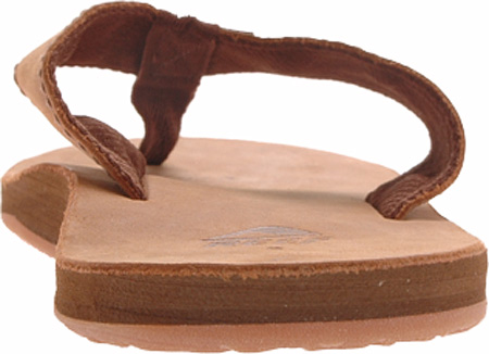 Men's Reef Leather Smoothy, Bronze Brown, large, image 5