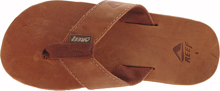Men's Reef Leather Smoothy, Bronze Brown, large, image 6
