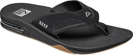 Men's Reef Fanning Original, Black/Silver with Logo, large, image 1