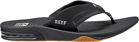Men's Reef Fanning Original, Black/Silver with Logo, large, image 2