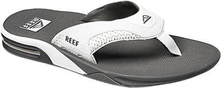 Men's Reef Fanning Original, Grey/White with Logo, large, image 1
