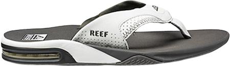 Men's Reef Fanning Original, Grey/White with Logo, large, image 2