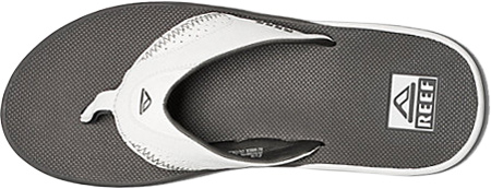 Men's Reef Fanning Original, Grey/White with Logo, large, image 3