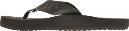 Men's Reef Smoothy, Black, large, image 3