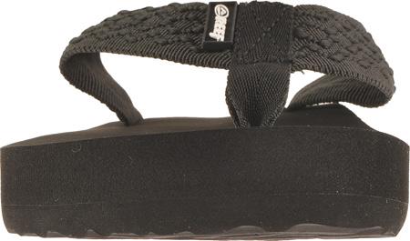 Men's Reef Smoothy, Black, large, image 4
