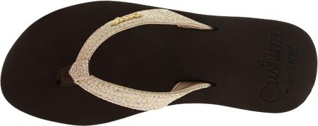 Women's Reef Star Cushion Sassy, Brown/White, large, image 6