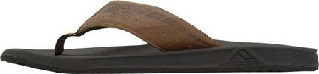 Men's Reef Phantom Le Thong Sandal, Brown/Tan, large, image 3